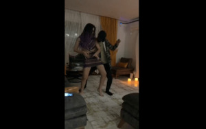 Cileklitart sexy dancing with her Boy Friend ON CAM