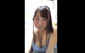 Mi_Yu_Ki teasing her Huge Boobs ON CAM