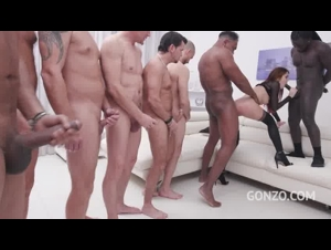 LegalPorno - Cindy Shine assfucked by 1, 2, 3, 4 guys and then gangbanged by all 10 of them 11292019