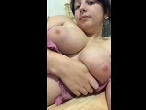Italian Periscope Rosa (@alessiarosa) showing her Big Tits 12-15-2019